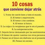 10 cosas para dejar de hacer