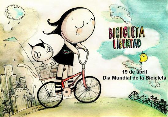 19 de abril dia mundial bicicleta
