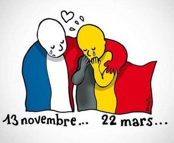 22 de marzo 2016 atentados belgica