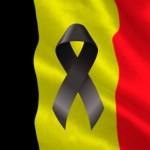 Imagenes de luto atentado en Belgica
