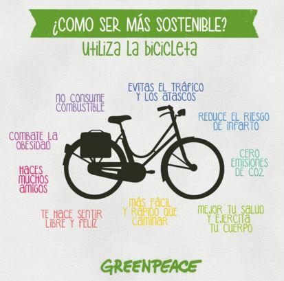 Beneficios de andar en bici