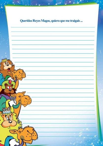 Cartas para escribir a los reyes magos