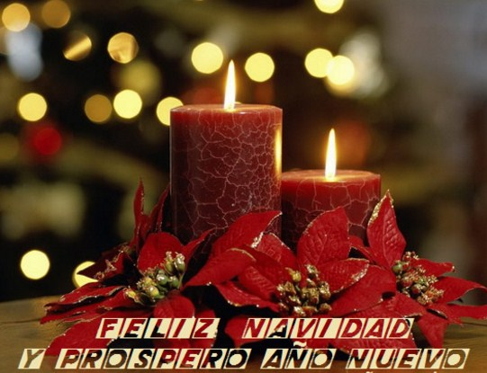 Carteles de feliz navidad y prospero año nuevo