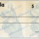 Cheque de la abundancia 2016 calendario