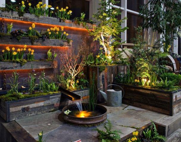 Imagenes de jardines verticales caseros Jardines verticales para patios pequenos