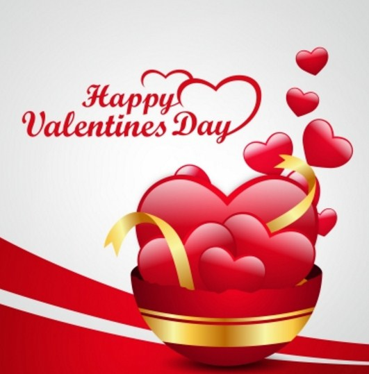 Corazones Feliz San Valentin