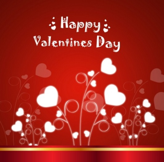 Corazones para San Valentin te amo