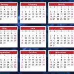 Calendarios 2017 bonitos