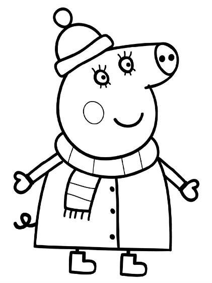 Dibujos de Peppa Pig para pintar
