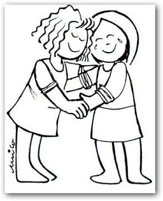 Dibujos de amistad para imprimir