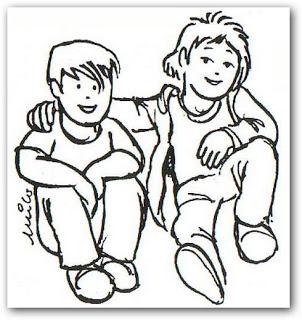 Dibujos de amistad y compañerismo