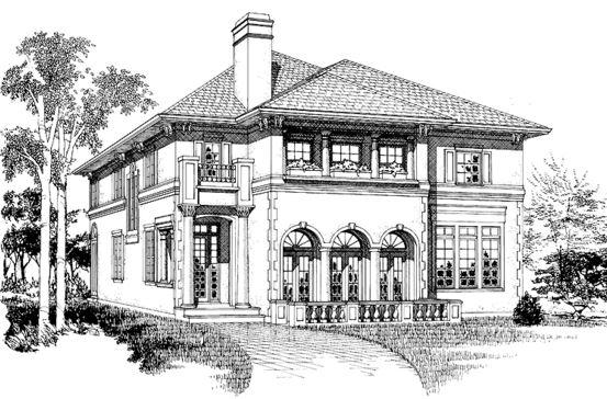 Dibujos de casas con chimenea