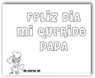 Feliz dia mi querido papá