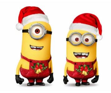 Feliz navidad con los minions