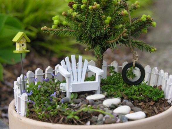 Fotos de mini jardines con sillones