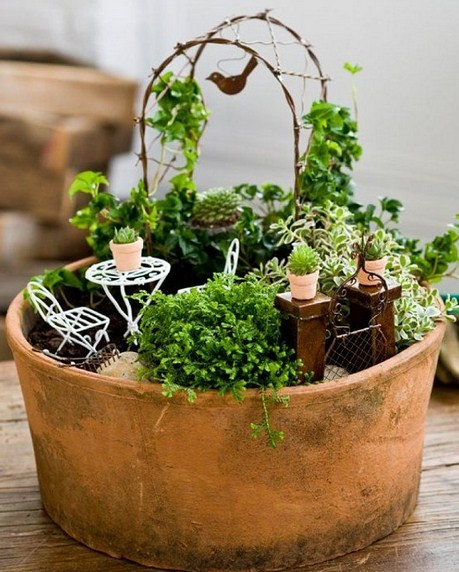 Fotos de mini jardines obras de arte