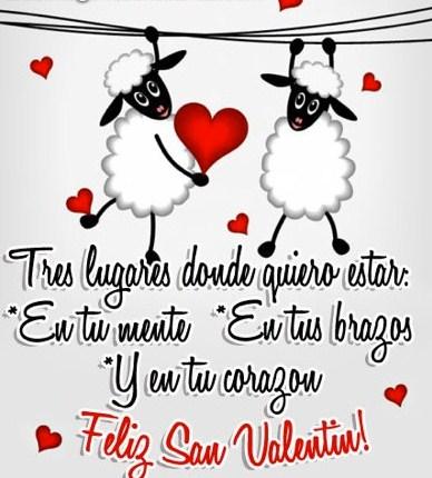 Frases cortas de amor para el 14 de Febrero