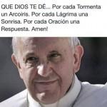 Frases cristianas con el Papa Francisco