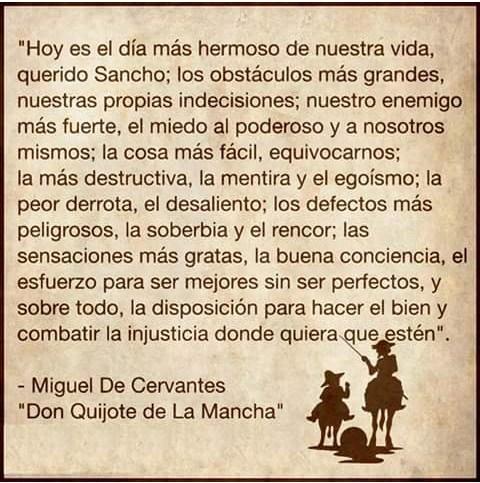 Frases del Quijote de la Mancha