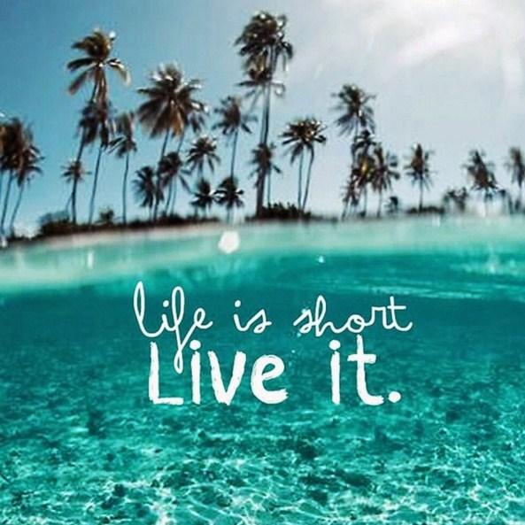 Frases la vida es corta