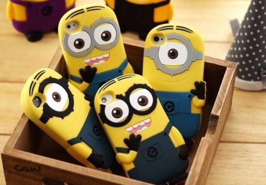 Funda de celular con los Minions