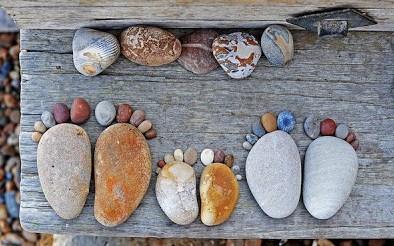 Huellas de piedra