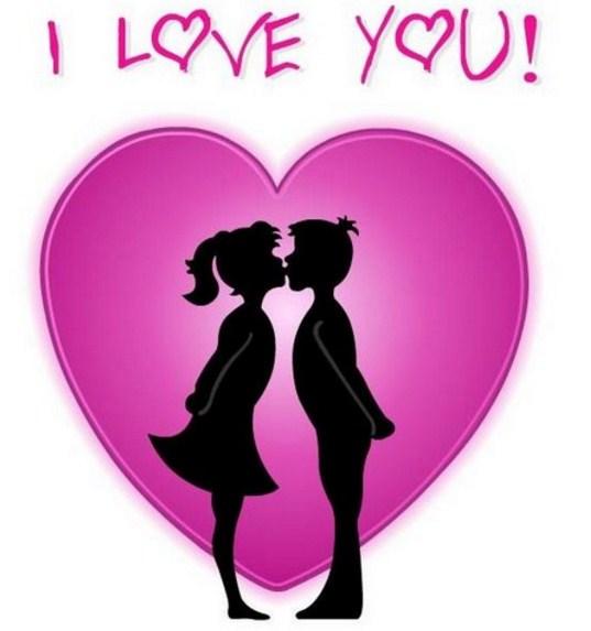 I love you para el dia de los enamorados