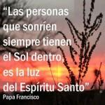 Imagenes con frases del Papa Francisco y el Espiritu Santo