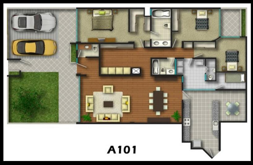 Imágenes de planos de viviendas