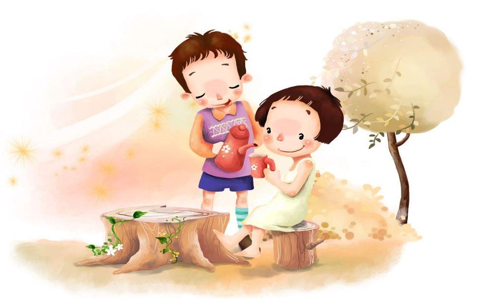 Imágenes de san valentin para niños