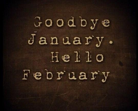 Imagenes adios enero hola febrero