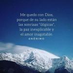 Imagenes con frases bonitas de Dios