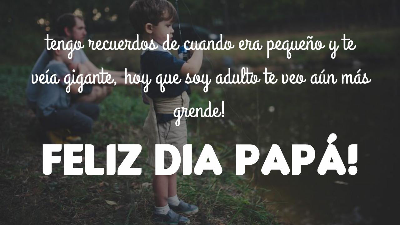 Imagenes con frases bonitas para el dia del padre