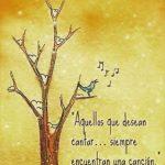 Imagenes con frases de cantar