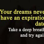 Imagenes con frases de sueños en ingles