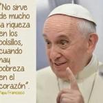 Imagenes con frases del Papa Francisco