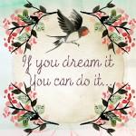 Imagenes con frases en ingles de sueños