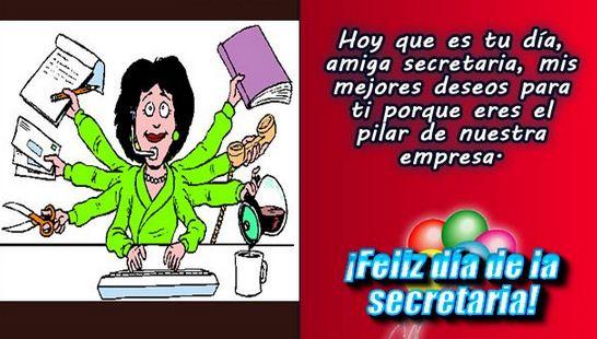 Imagenes con frases para el dia de la secretaria