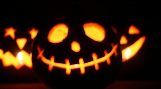 Imagenes de calabazas de noche para Halloween