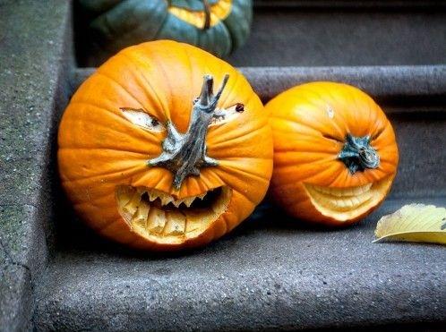 Como tallar calabazas para halloween - Calabazas de halloween de miedo ...