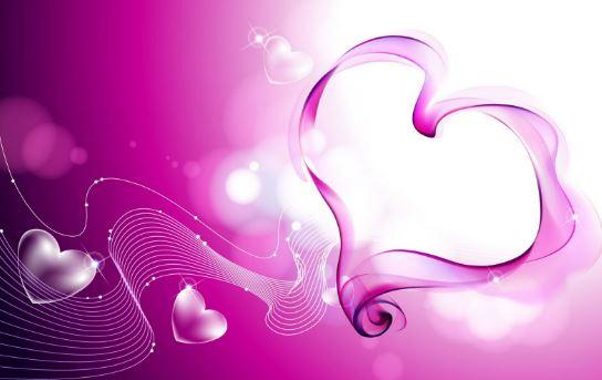 Imagenes-de-corazones-lilas