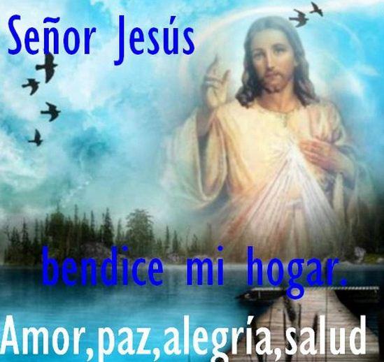 Imagenes de dios bendice mi hogar con amor, paz y alegria