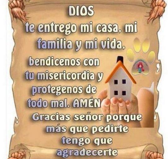 Imagenes de dios bendice mi hogar y mi familia