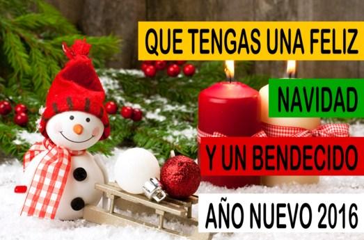 Imagenes de feliz navidad y prospero 2016