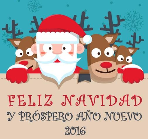 Imagenes de feliz navidad y prospero año nuevo 2016