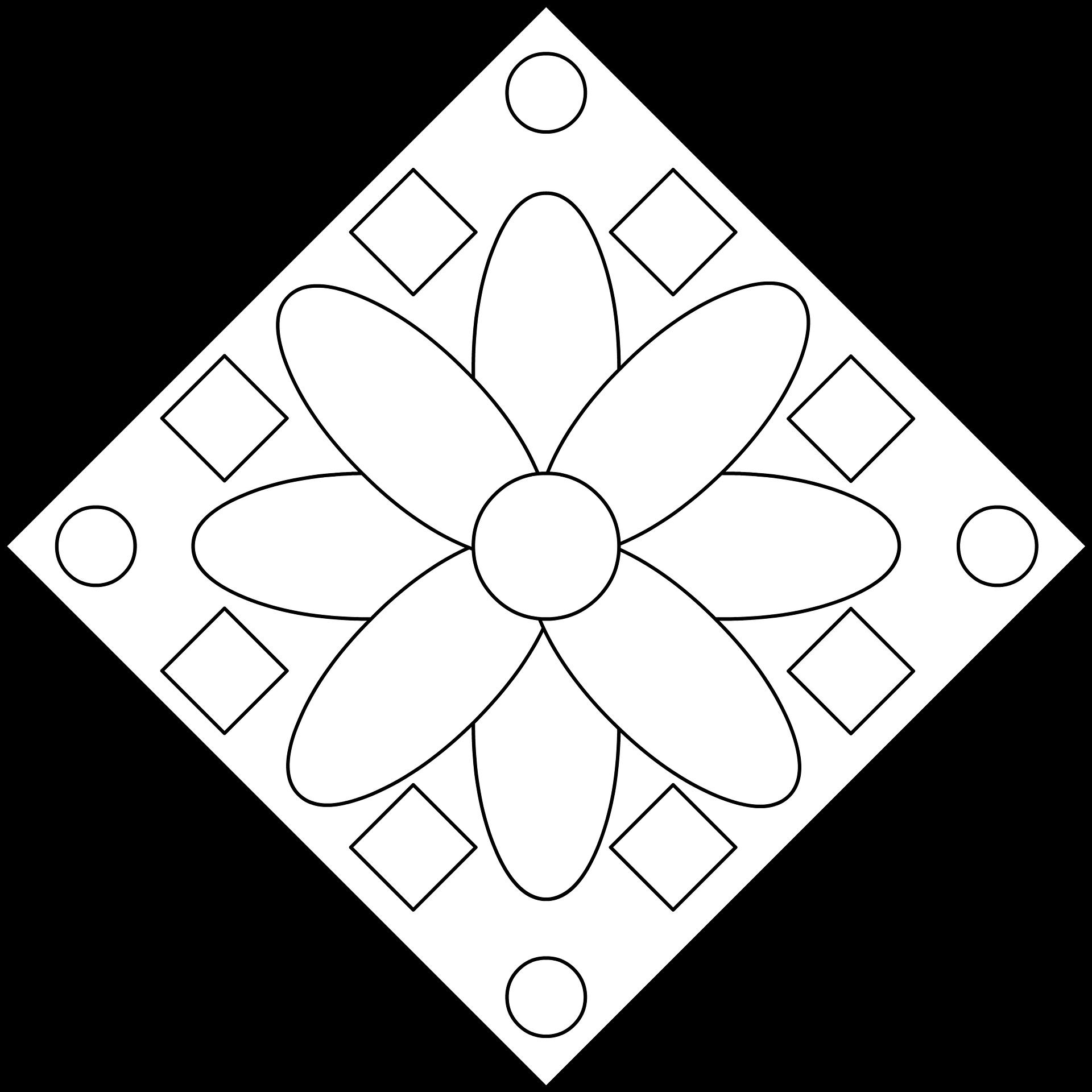 Imagenes de flores para colorear e imprimir