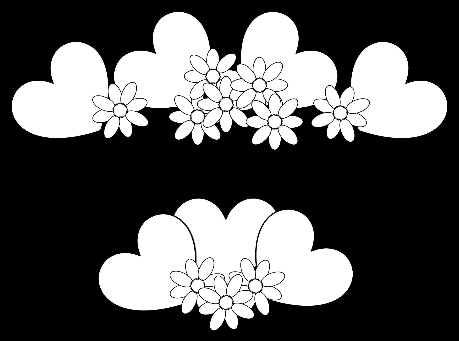Imagenes de flores para colorear gratis