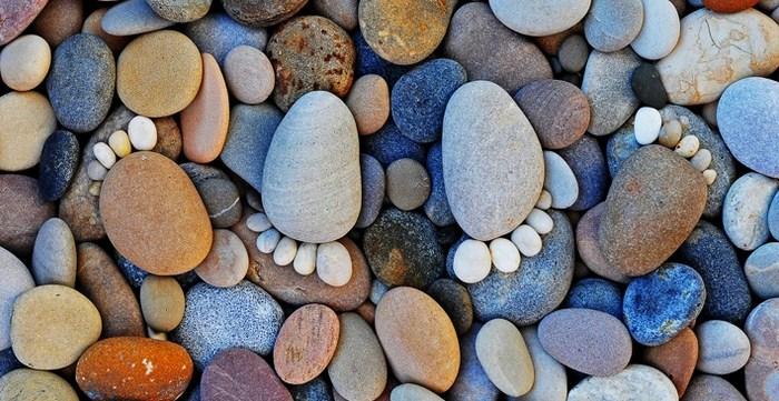 Imagenes de huellas de piedra