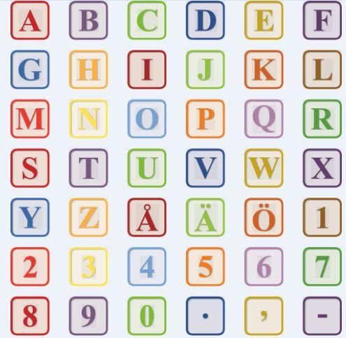 Imagenes de letras del abecedario