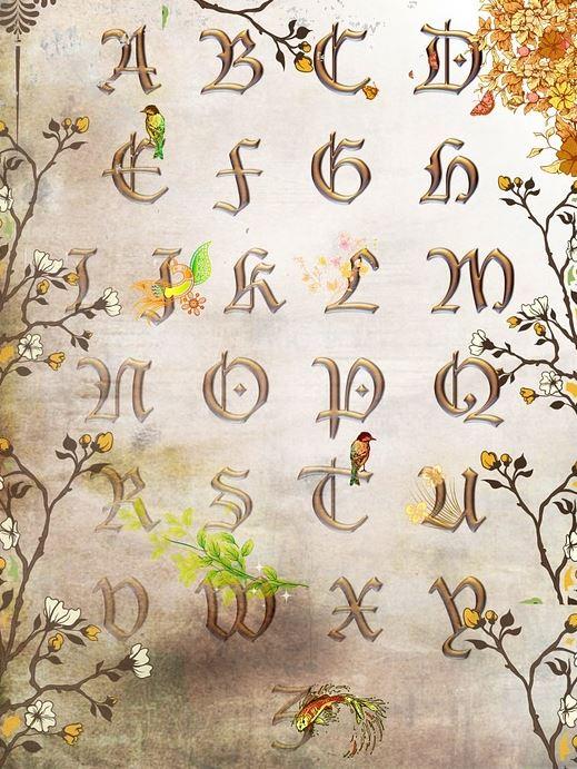 Imagenes de letras lindas